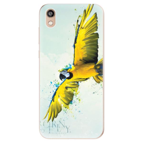 Odolné silikonové pouzdro iSaprio - Born to Fly - Huawei Honor 8S