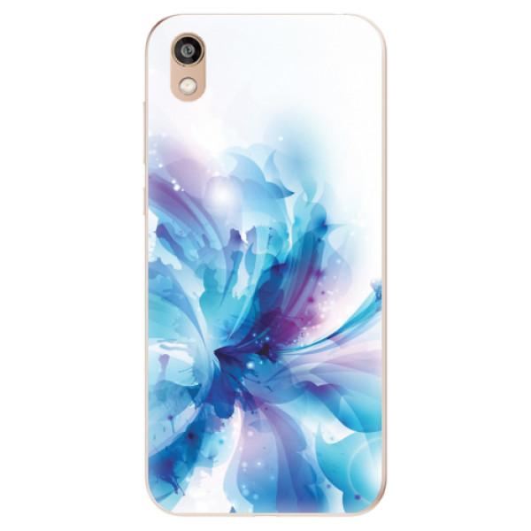 Odolné silikonové pouzdro iSaprio - Abstract Flower - Huawei Honor 8S