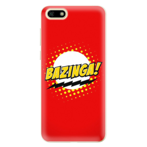 Odolné silikonové pouzdro iSaprio - Bazinga 01 - Huawei Y5 2018