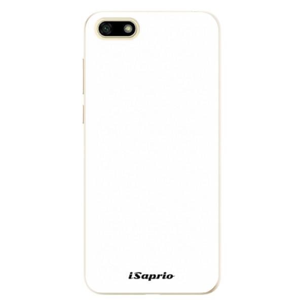 Odolné silikonové pouzdro iSaprio - 4Pure - bílý - Huawei Y5 2018