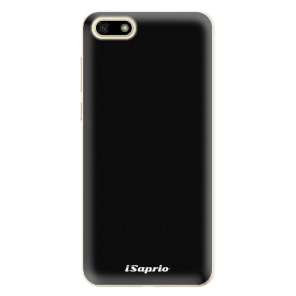 Odolné silikonové pouzdro iSaprio - 4Pure - černý - Huawei Y5 2018