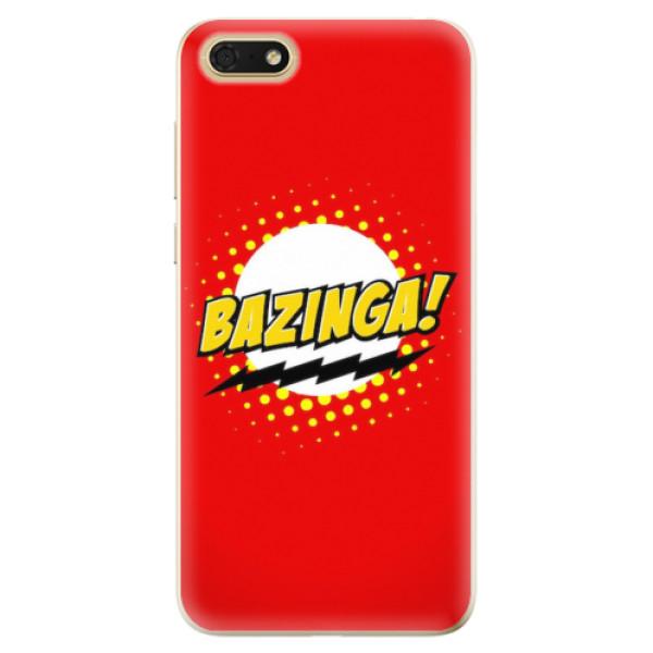 Odolné silikonové pouzdro iSaprio - Bazinga 01 - Huawei Honor 7S