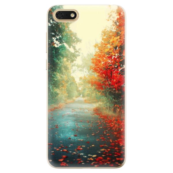 Odolné silikonové pouzdro iSaprio - Autumn 03 - Huawei Honor 7S