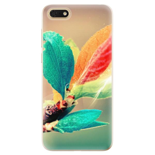 Odolné silikonové pouzdro iSaprio - Autumn 02 - Huawei Honor 7S