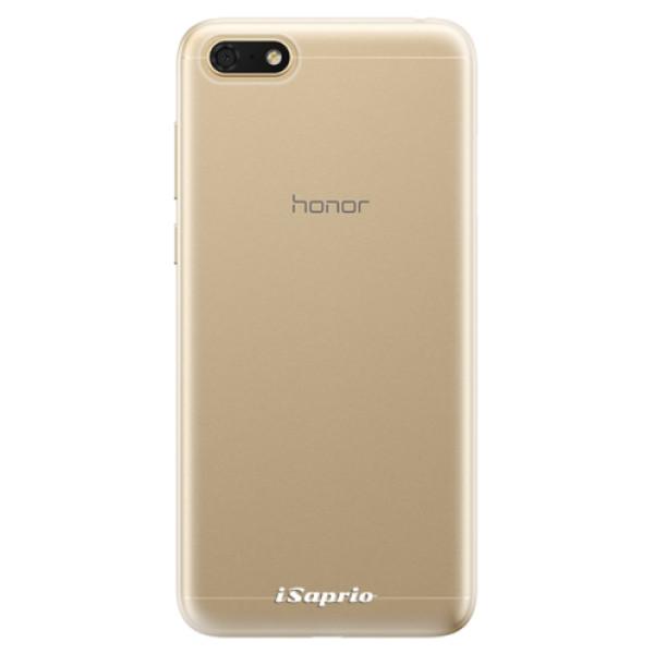 Odolné silikonové pouzdro iSaprio - 4Pure - mléčný bez potisku - Huawei Honor 7S