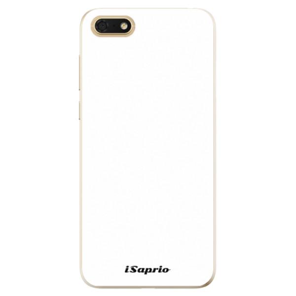 Odolné silikonové pouzdro iSaprio - 4Pure - bílý - Huawei Honor 7S