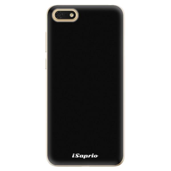 Odolné silikonové pouzdro iSaprio - 4Pure - černý - Huawei Honor 7S