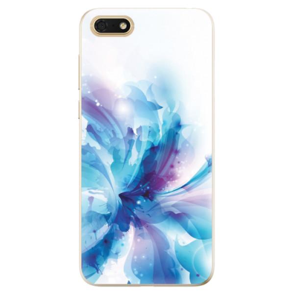 Odolné silikonové pouzdro iSaprio - Abstract Flower - Huawei Honor 7S