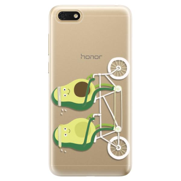 Odolné silikonové pouzdro iSaprio - Avocado - Huawei Honor 7S