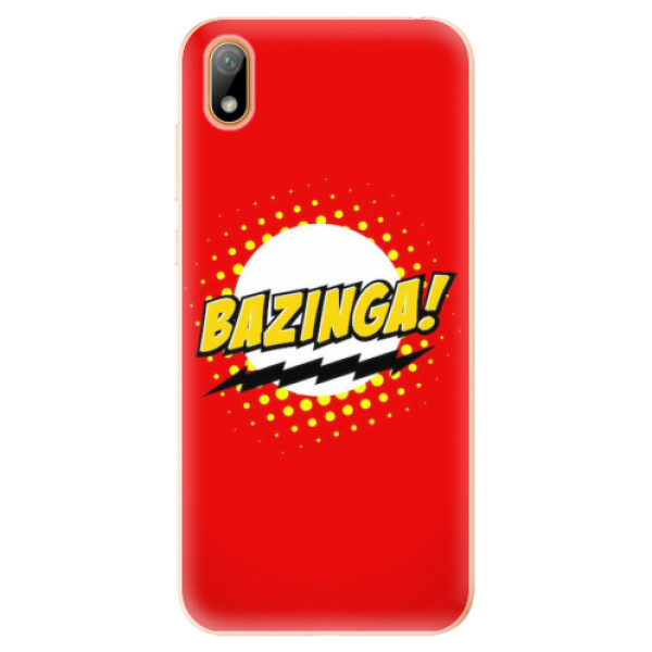 Odolné silikonové pouzdro iSaprio - Bazinga 01 - Huawei Y5 2019