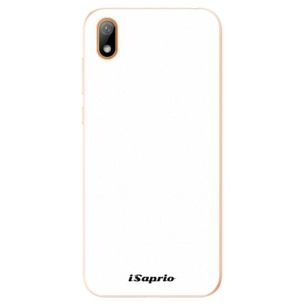 Odolné silikonové pouzdro iSaprio - 4Pure - bílý - Huawei Y5 2019