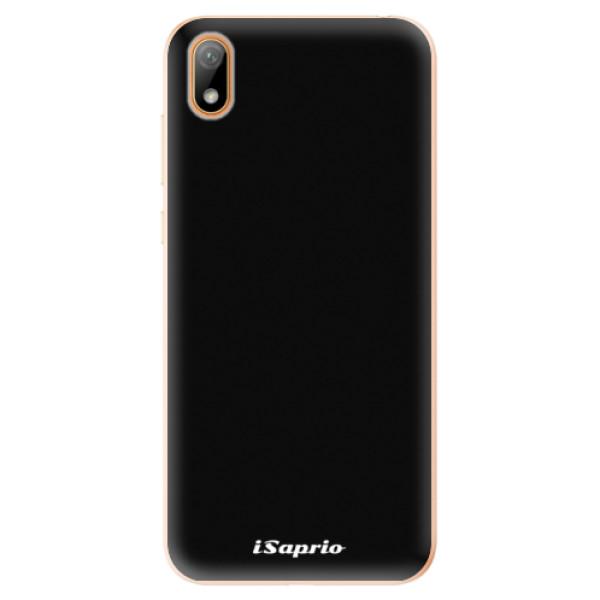 Odolné silikonové pouzdro iSaprio - 4Pure - černý - Huawei Y5 2019