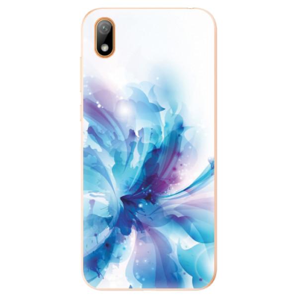 Odolné silikonové pouzdro iSaprio - Abstract Flower - Huawei Y5 2019