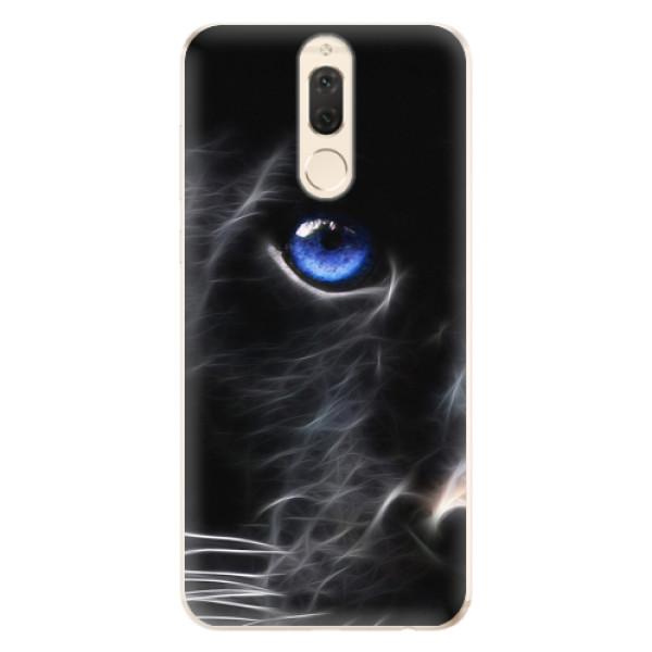 Odolné silikonové pouzdro iSaprio - Black Puma - Huawei Mate 10 Lite
