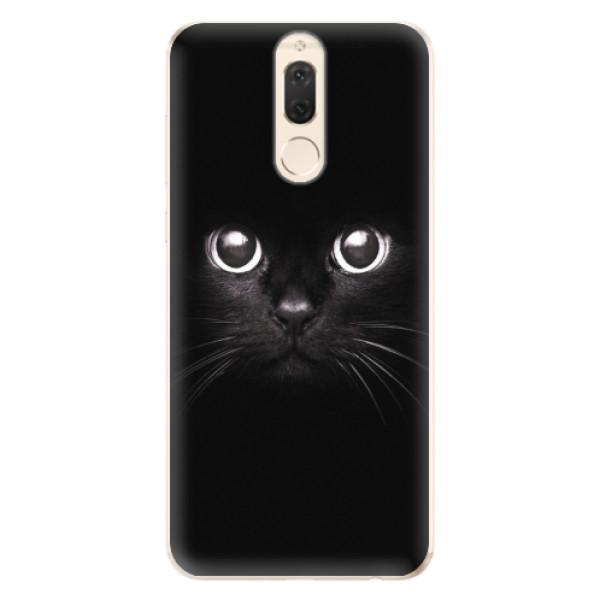 Odolné silikonové pouzdro iSaprio - Black Cat - Huawei Mate 10 Lite