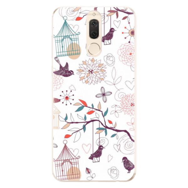 Odolné silikonové pouzdro iSaprio - Birds - Huawei Mate 10 Lite