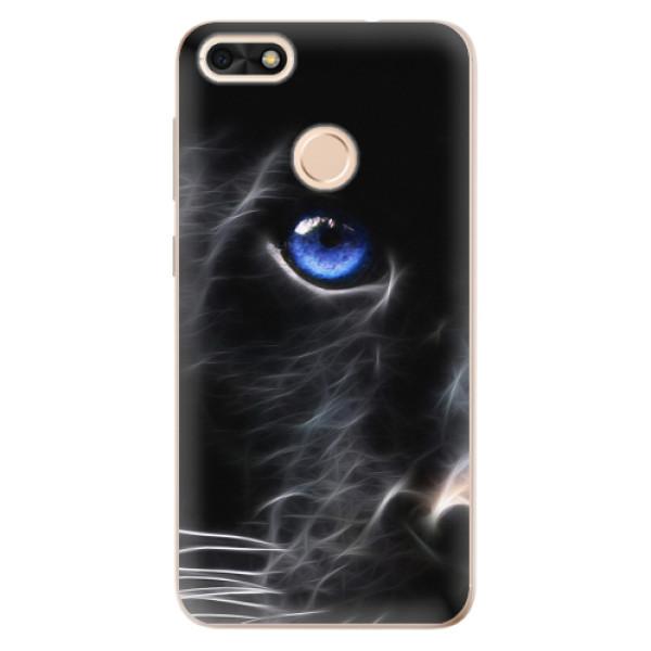 Odolné silikonové pouzdro iSaprio - Black Puma - Huawei P9 Lite Mini