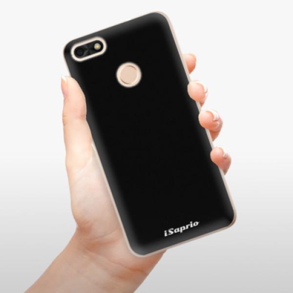 Odolné silikonové pouzdro iSaprio - 4Pure - černý - Huawei P9 Lite Mini