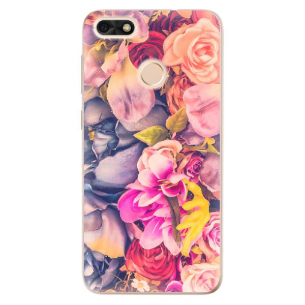 Odolné silikonové pouzdro iSaprio - Beauty Flowers - Huawei P9 Lite Mini