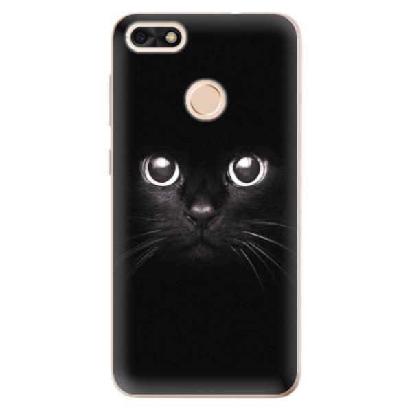 Odolné silikonové pouzdro iSaprio - Black Cat - Huawei P9 Lite Mini