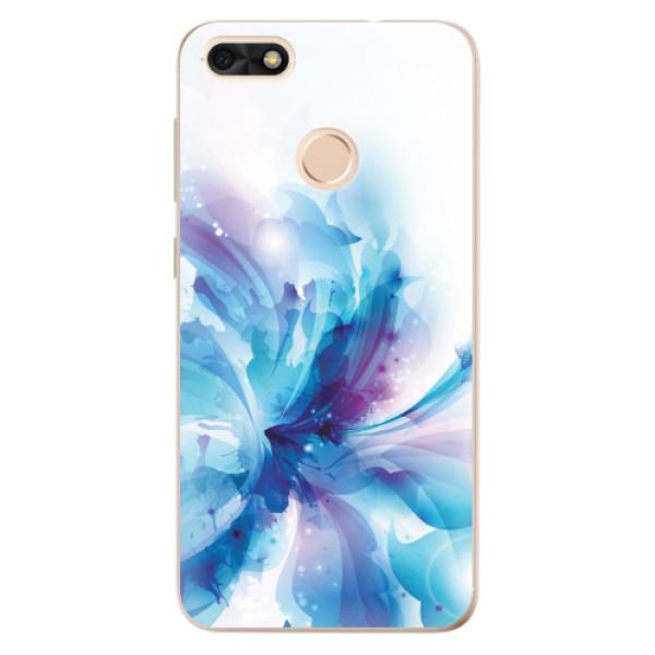 Odolné silikonové pouzdro iSaprio - Abstract Flower - Huawei P9 Lite Mini