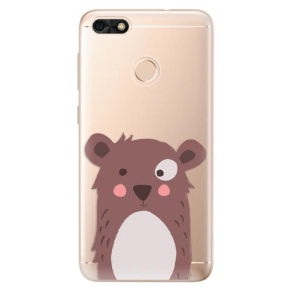 Odolné silikonové pouzdro iSaprio - Brown Bear - Huawei P9 Lite Mini