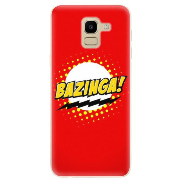 Odolné silikonové pouzdro iSaprio - Bazinga 01 - Samsung Galaxy J6