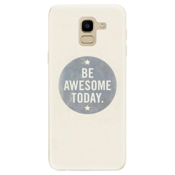 Odolné silikonové pouzdro iSaprio - Awesome 02 - Samsung Galaxy J6