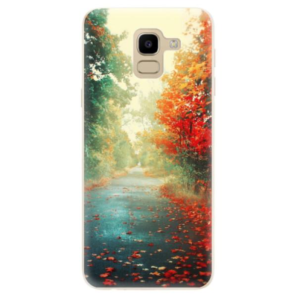 Odolné silikonové pouzdro iSaprio - Autumn 03 - Samsung Galaxy J6