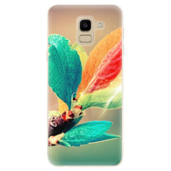 Odolné silikonové pouzdro iSaprio - Autumn 02 - Samsung Galaxy J6