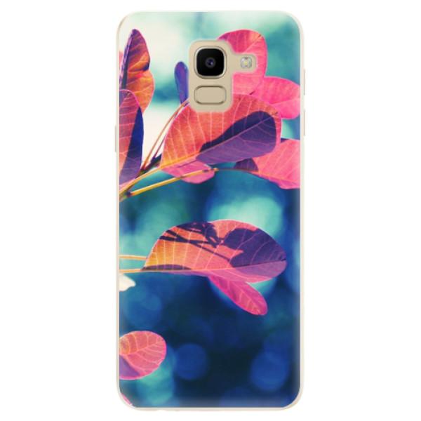 Odolné silikonové pouzdro iSaprio - Autumn 01 - Samsung Galaxy J6