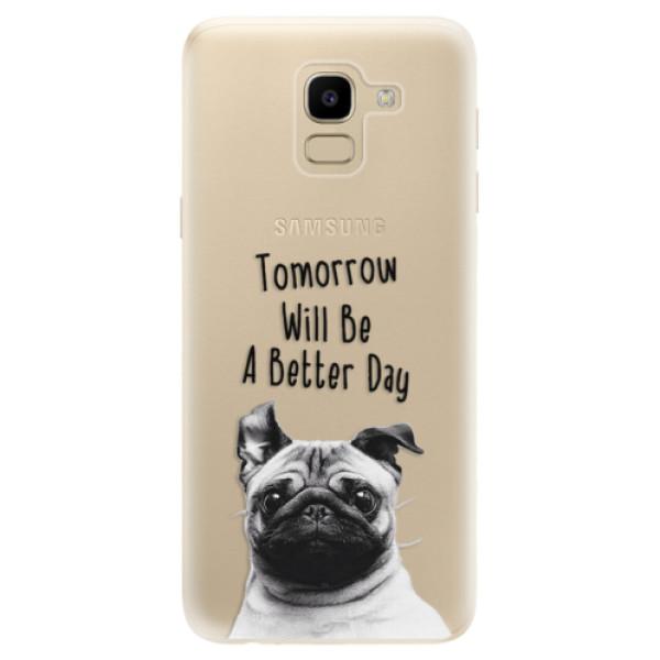 Odolné silikonové pouzdro iSaprio - Better Day 01 - Samsung Galaxy J6