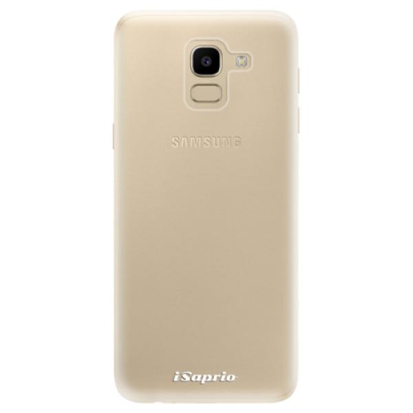 Odolné silikonové pouzdro iSaprio - 4Pure - mléčný bez potisku - Samsung Galaxy J6