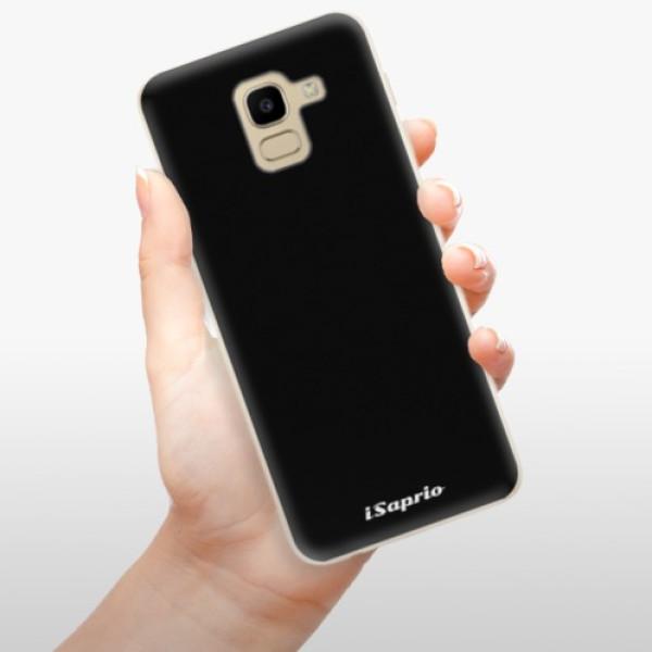 Odolné silikonové pouzdro iSaprio - 4Pure - černý - Samsung Galaxy J6