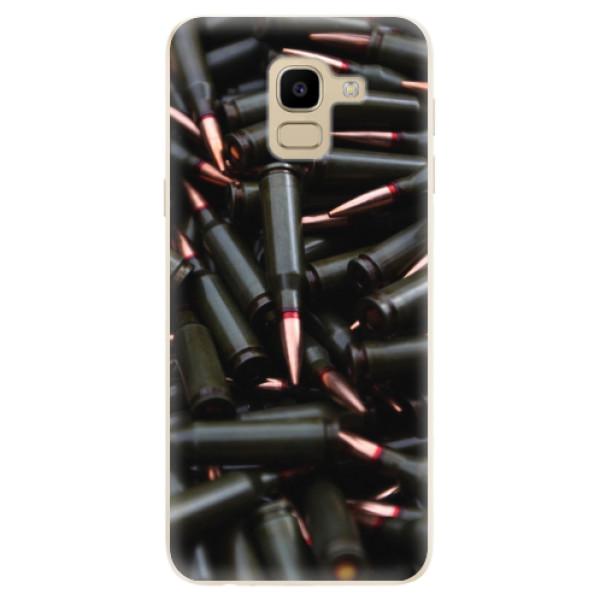 Odolné silikonové pouzdro iSaprio - Black Bullet - Samsung Galaxy J6