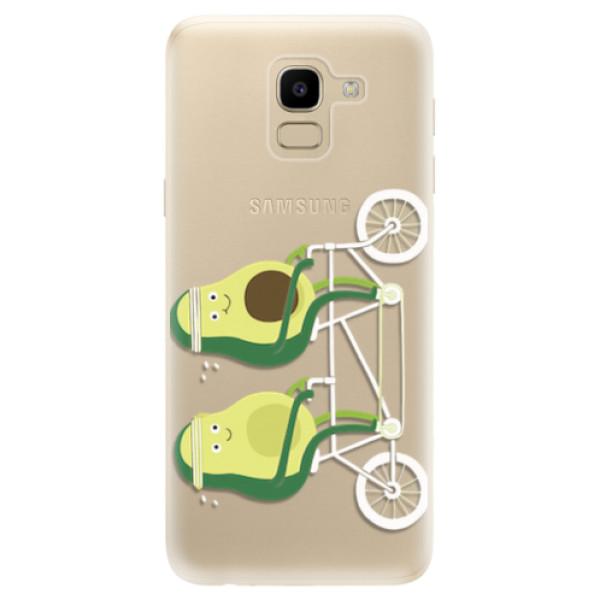 Odolné silikonové pouzdro iSaprio - Avocado - Samsung Galaxy J6