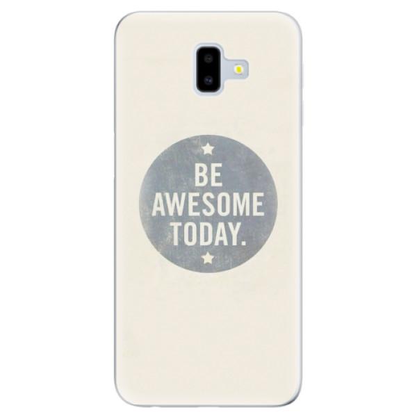 Odolné silikonové pouzdro iSaprio - Awesome 02 - Samsung Galaxy J6+