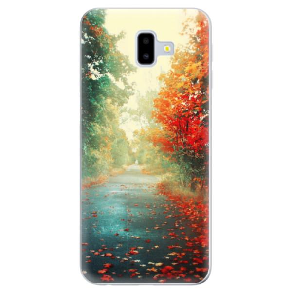 Odolné silikonové pouzdro iSaprio - Autumn 03 - Samsung Galaxy J6+