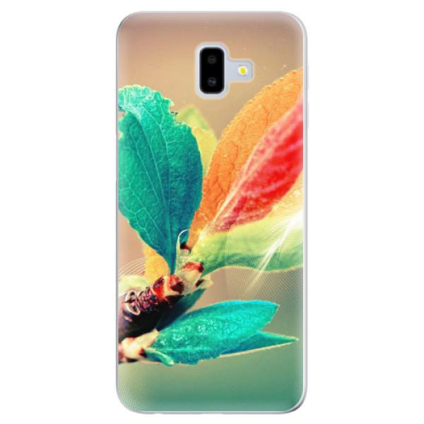 Odolné silikonové pouzdro iSaprio - Autumn 02 - Samsung Galaxy J6+