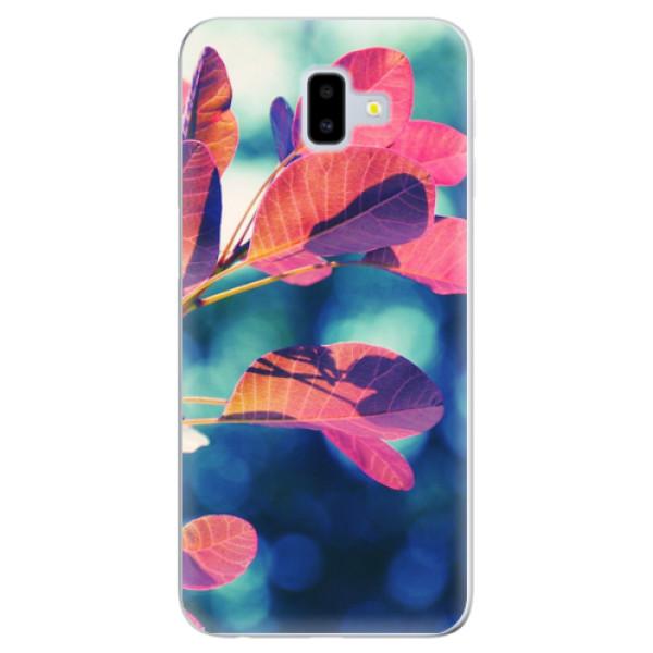 Odolné silikonové pouzdro iSaprio - Autumn 01 - Samsung Galaxy J6+