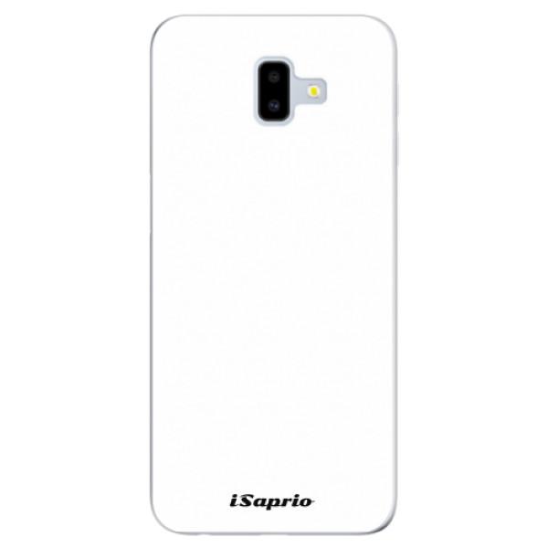 Odolné silikonové pouzdro iSaprio - 4Pure - bílý - Samsung Galaxy J6+