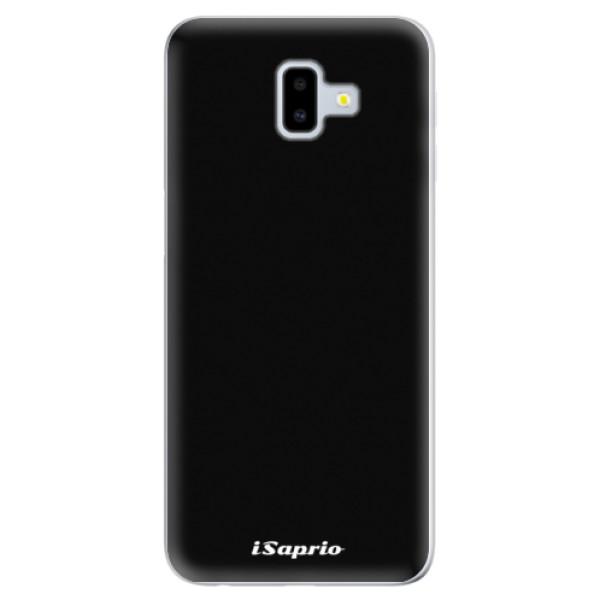 Odolné silikonové pouzdro iSaprio - 4Pure - černý - Samsung Galaxy J6+