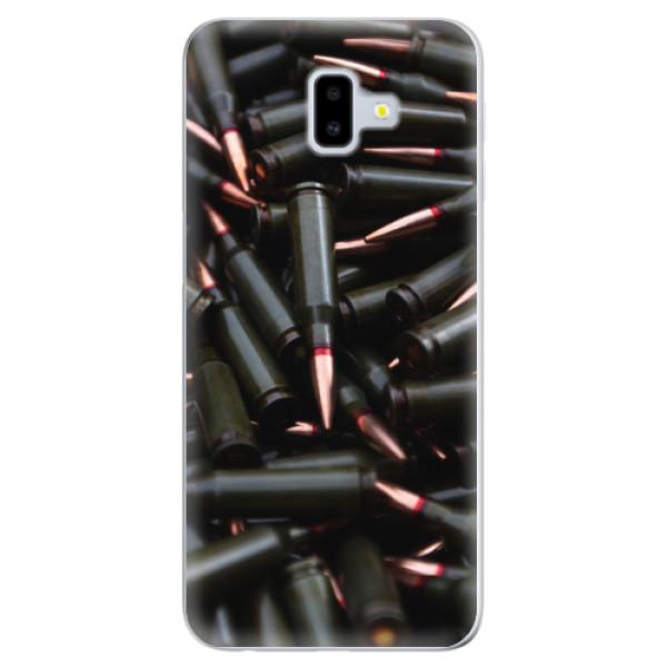 Odolné silikonové pouzdro iSaprio - Black Bullet - Samsung Galaxy J6+