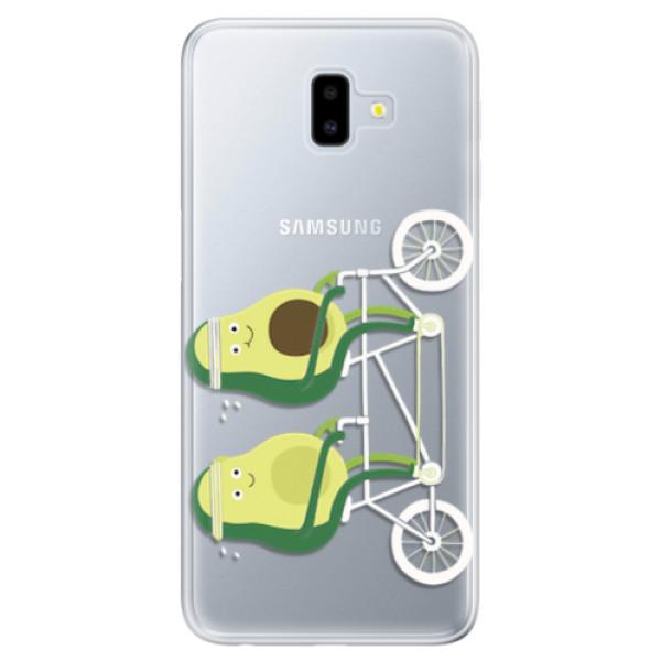 Odolné silikonové pouzdro iSaprio - Avocado - Samsung Galaxy J6+