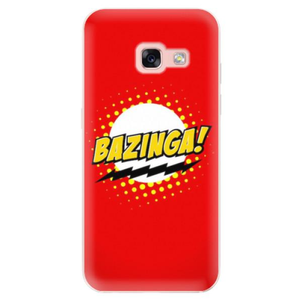 Odolné silikonové pouzdro iSaprio - Bazinga 01 - Samsung Galaxy A3 2017