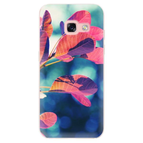 Odolné silikonové pouzdro iSaprio - Autumn 01 - Samsung Galaxy A3 2017