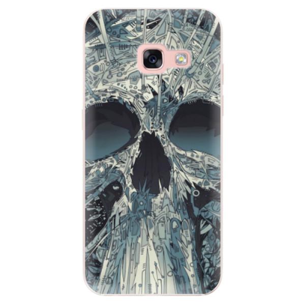 Odolné silikonové pouzdro iSaprio - Abstract Skull - Samsung Galaxy A3 2017