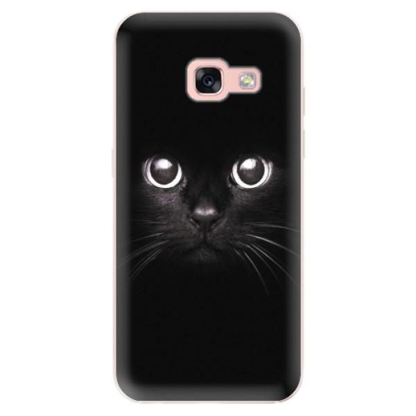 Odolné silikonové pouzdro iSaprio - Black Cat - Samsung Galaxy A3 2017