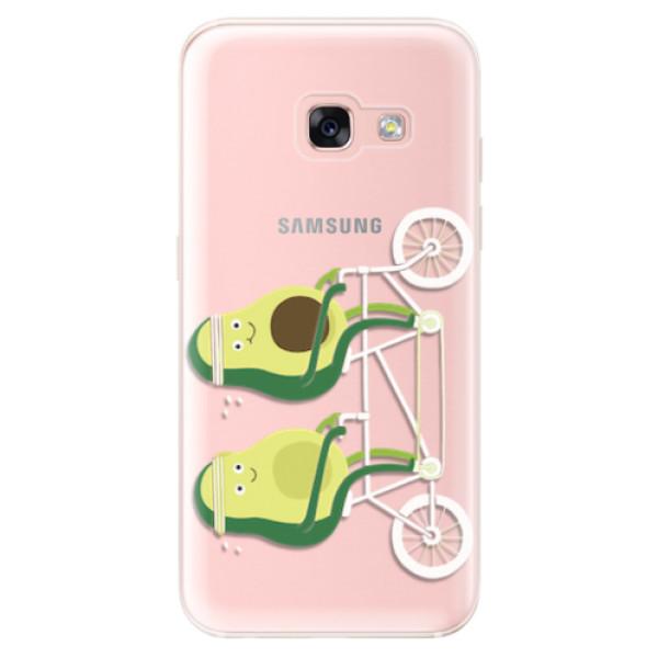 Odolné silikonové pouzdro iSaprio - Avocado - Samsung Galaxy A3 2017