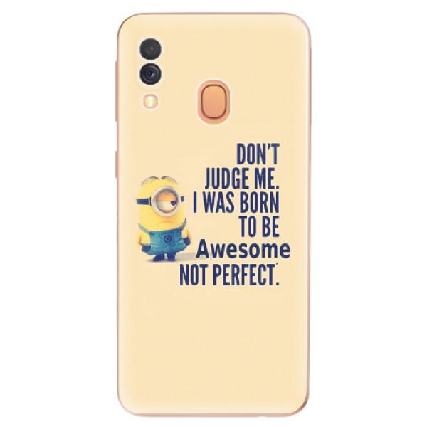 Odolné silikonové pouzdro iSaprio - Be Awesome - Samsung Galaxy A40